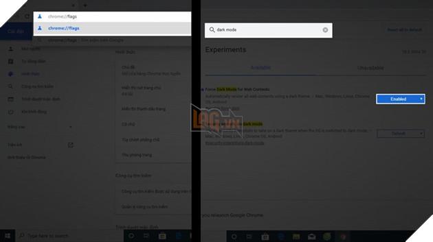 Hướng dẫn: Kích hoạt giao diện Dark Mode trên Chrome chỉ vài thao tác đơn giản 3