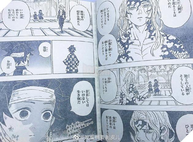 Kimetsu No Yaiba tập 182 - Spoiler - Dự đoán và ngày chính thức xuất bản - Bàn tay bí ẩn nắm cổ Luyến Trụ là ai ?