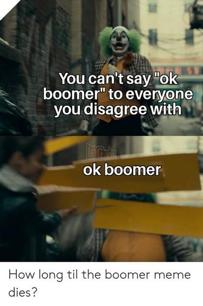 Meme Ok Boomer là gì và định nghĩa của Boomer ra sao mà ai cũng đang sử dụng 9