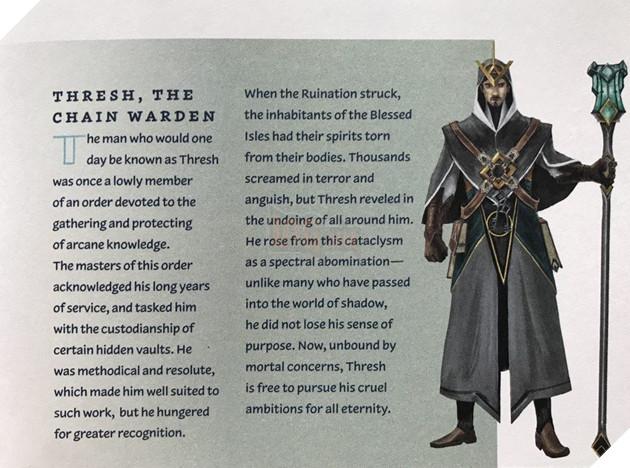 LMHT: Hình dáng con người của Thresh được Riot Games hé lộ khiến game thủ bất ngờ 2