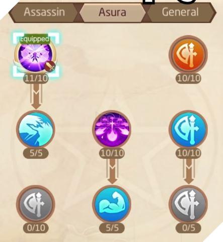 Laplace M - Cách tăng kỹ năng Assassin, Ninja, Asura giúp PVP và PVE hiệu quả 19