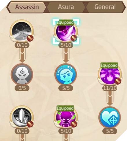 Laplace M - Cách tăng kỹ năng Assassin, Ninja, Asura giúp PVP và PVE hiệu quả 17