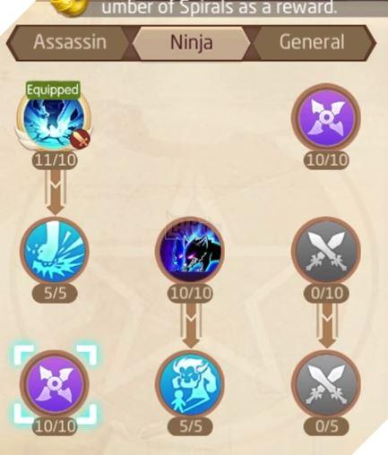 Laplace M - Cách tăng kỹ năng Assassin, Ninja, Asura giúp PVP và PVE hiệu quả 15