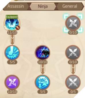 Laplace M - Cách tăng kỹ năng Assassin, Ninja, Asura giúp PVP và PVE hiệu quả 12