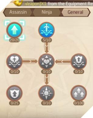 Laplace M - Cách tăng kỹ năng Assassin, Ninja, Asura giúp PVP và PVE hiệu quả 13
