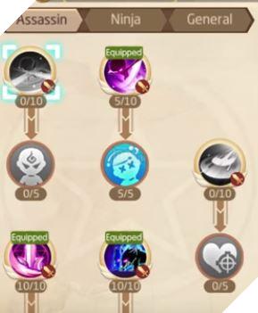 Laplace M - Cách tăng kỹ năng Assassin, Ninja, Asura giúp PVP và PVE hiệu quả 10