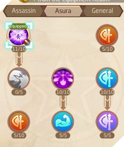 Laplace M - Cách tăng kỹ năng Assassin, Ninja, Asura giúp PVP và PVE hiệu quả 21