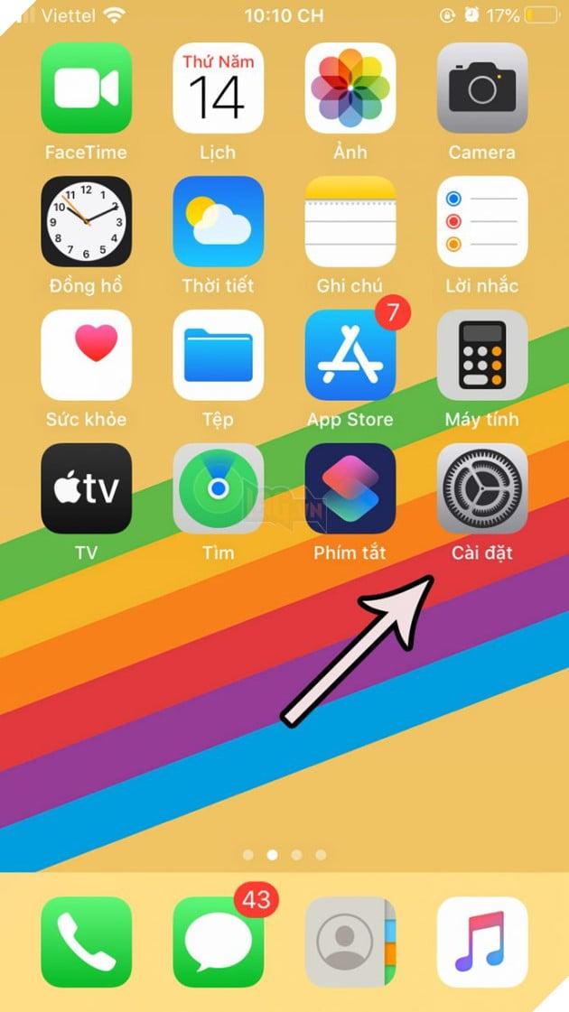 Hướng dẫn: Cách tắt tính năng độ sáng tự động, giúp thiết bị iPhone không bị hao tốn pin 2