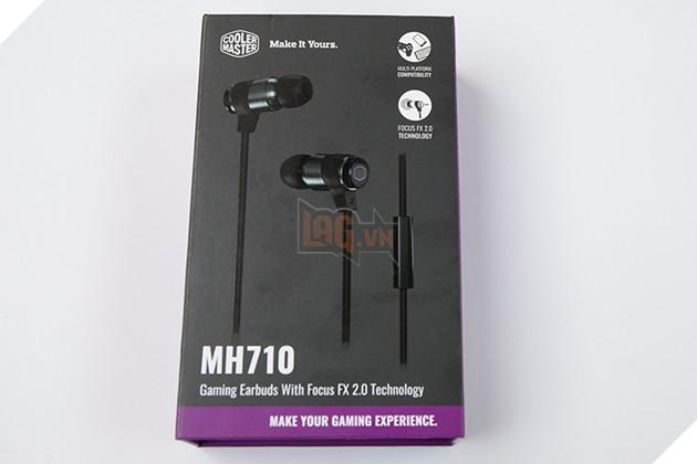 Review Tai nghe in-ear Cooler Master MH710: Đẹp, đơn giãn và sở hữu nhiều tính năng không thua tai phone cao cấp