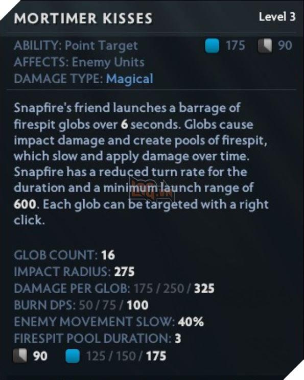 DOTA 2: Chi tiết bộ kĩ năng của Snapfire - Xạ thủ hỗ trợ kèm khống chế cực khó chịu 12