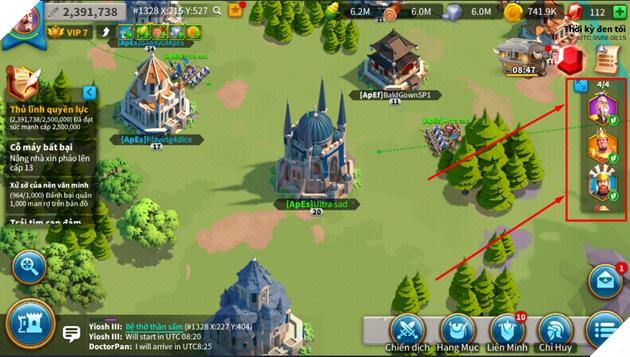 Rise of Kingdoms - Hướng dẫn cách mạnh nhanh nhất và tốn ít thời gian nhất