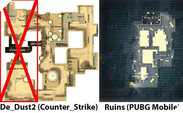 PUBG Mobile sắp thêm một bản đồ mới trong Chế độ Team Deathmatch 2