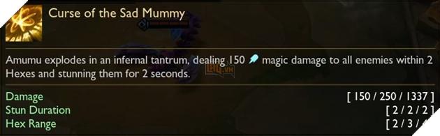 Amumu Curse of the Sad Mummy