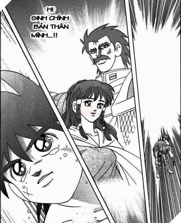 Ở đoạn kết truyện Dấu Ấn Rồng Thiêng, Dai dũng sĩ đã chọn hy sinh bản thân, ngăn cản quả bom Kill-Vearn tàn phá thế giới loài người.