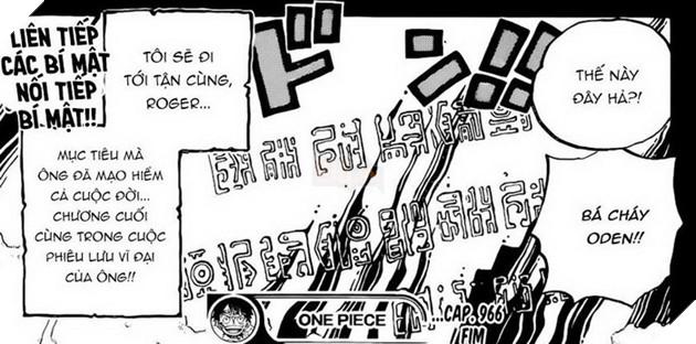 Dự đoán Spoiler One Piece Chap 967: Cuộc hành trình của Roger và Oden, Orochi lộng hành tại Wano 4