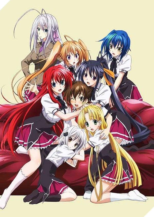 Top 10 bộ Anime có nhiều cảnh nhạy cảm nhất khiến người xem xịt hết máu mũi P1  2