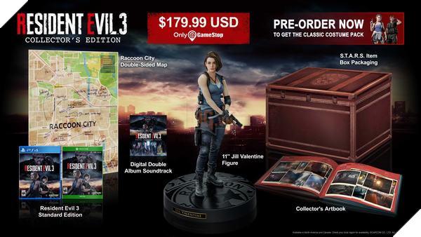 Resident Evil 3 Remake hé lộ dung lượng cài đặt, gấp đôi RE 2 chỉ vì RE Project Resistance 2
