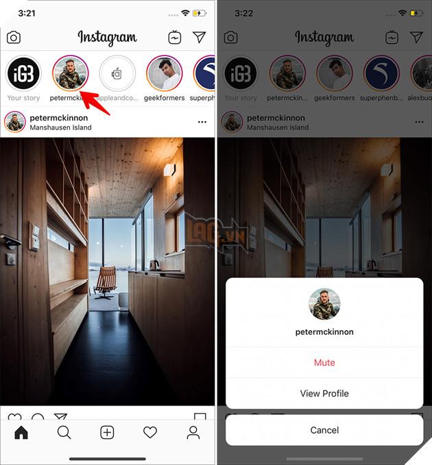 Hướng dẫn: Cách xem story trên Instagram mà không bị phát hiện 3