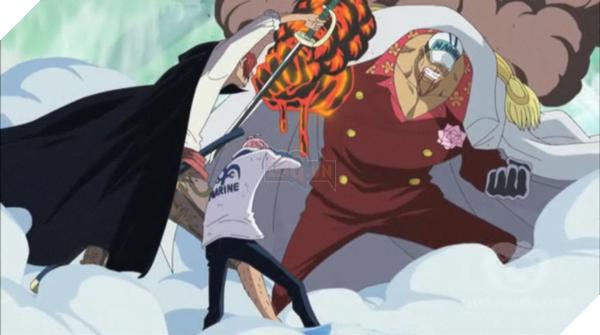 Đô Đốc Akainu là ai - Vị thủy sư đô đốc tàn bạo nhất One Piece 5