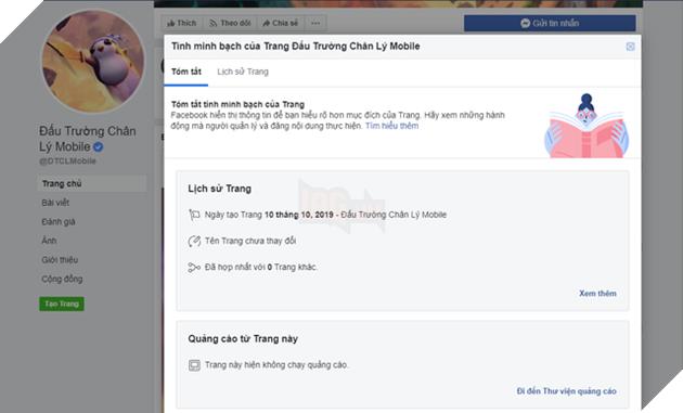 """Đấu Trường Chân Lý Mobile """"ém hàng"""" Fanpage, chỉ vỏn vẹn 100 likes mà đã có tích xanh chính chủ Facebook - Ảnh 2."""