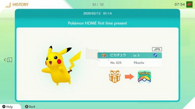 Hướng dẫn cách nhận Pokemon miễn phí và theo sự kiện từ Pokemon Home 5