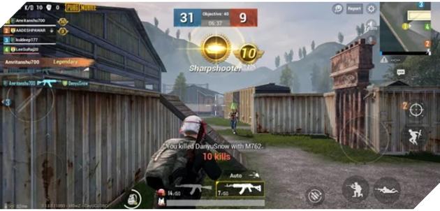 PUBG Mobile: Bỏ túi 5 mẹo cải thiện điểm Kill/ Die trong chế độ TeamDeathmatch 2