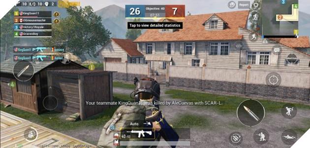 PUBG Mobile: Bỏ túi 5 mẹo cải thiện điểm Kill/ Die trong chế độ TeamDeathmatch 3