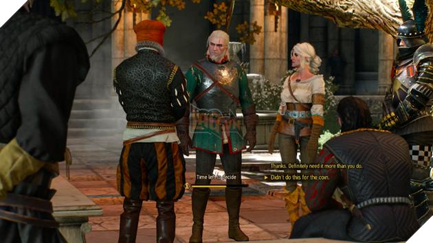 The Witcher 3: Những nhiệm vụ khiến người chơi đau đầu nhất khi đưa ra lựa chọn 13