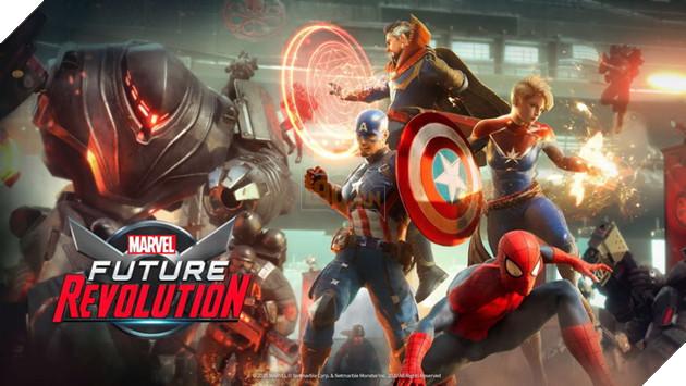 Marvel Future Revolution - Tựa game thế giới mở cho các siêu anh hùng Marvel x NetEase chính thức ra mắt