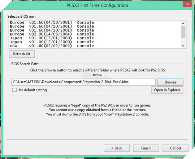 Hướng dẫn: Cách giả lập PS2 để chơi game trên PC 3
