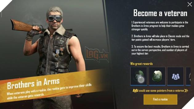 PUBG Mobile: Trải nghiệm nhanh tính năng Brothers In Arm nếu bạn là người mới chơi 3