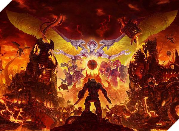 Cấu hình Doom Eternal tương đối khoai, fan nên xem lại cỗ máy nhà mình 3