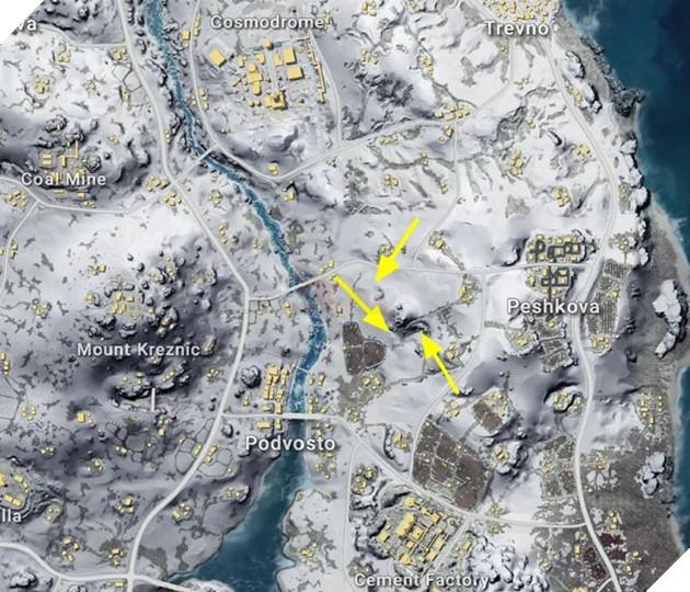 PUBG Mobile: Những bí mật của map Vikendi mà người chơi chưa biết đến  2