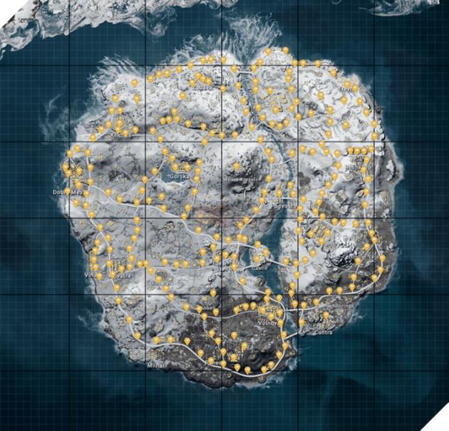 PUBG Mobile: Những bí mật của map Vikendi mà người chơi chưa biết đến  5