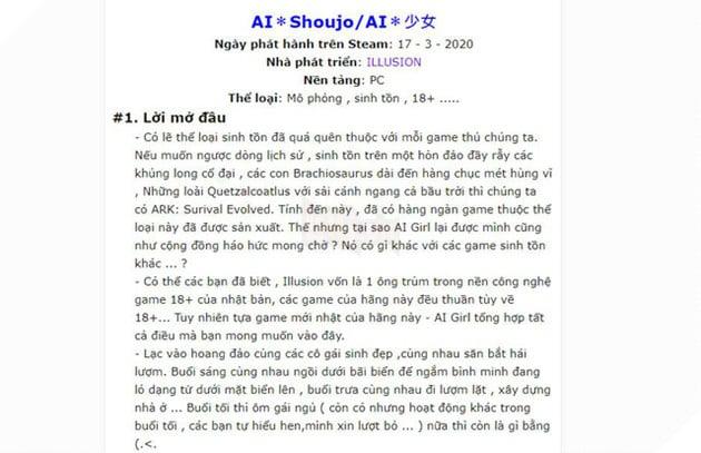 Tựa game nuôi vợ ảo đang hot trên Steam đã có phiên bản Việt Ngữ - Ảnh 2.