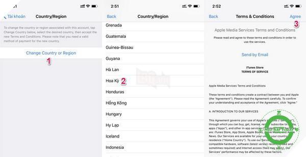 Hướng dẫn: Chuyển vùng App Store sang Mỹ để tải Google Assistant cho iPhone, iPad