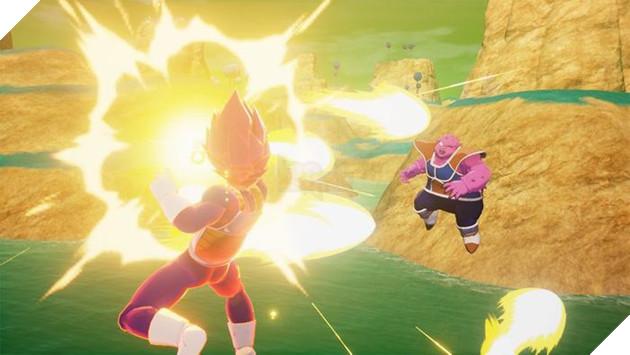 Dragon Ball Z: Kakarot hé lộ chi tiết lạ khi Super Saiyan God đấu với Beerus 4