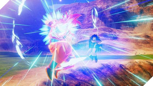 Dragon Ball Z: Kakarot hé lộ chi tiết lạ khi Super Saiyan God đấu với Beerus 3