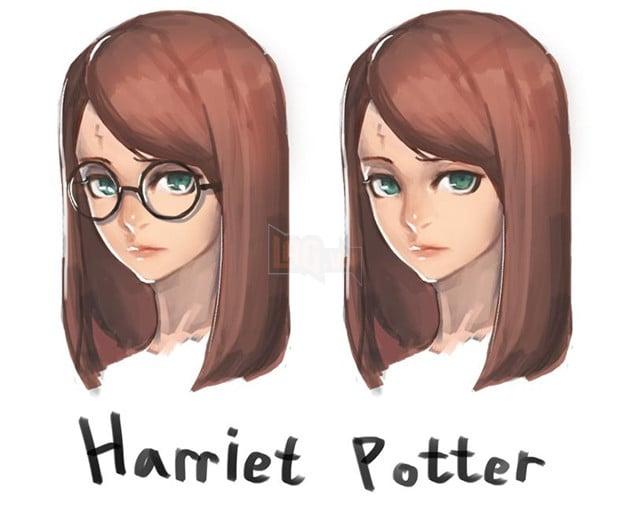 Harriet Potter rule 63
