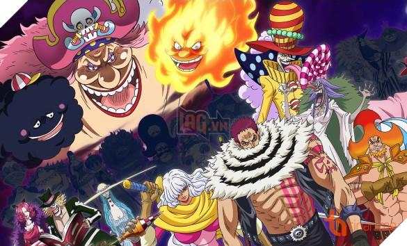 Spoiler] One Piece 930 - Băng BigMom đến Wano