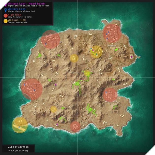 PUBG Mobile: Chiến lược, địa điểm hạ dù tốt nhất trên bản đồ Karakin  2