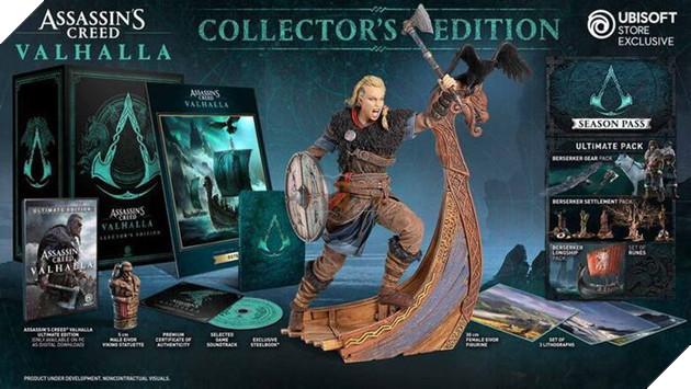 Những bí mật ẩn giấu trong Assassin's Creed Valhalla phiên bản Collector's Edition 2