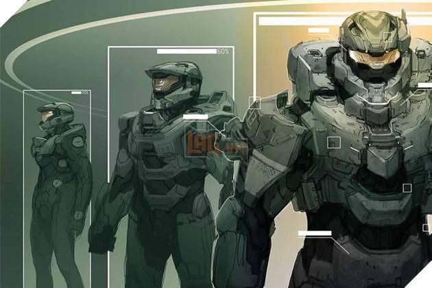 Nhà phát triển game Halo giải thích về nguồn gốc tạo hình Master Chief 2