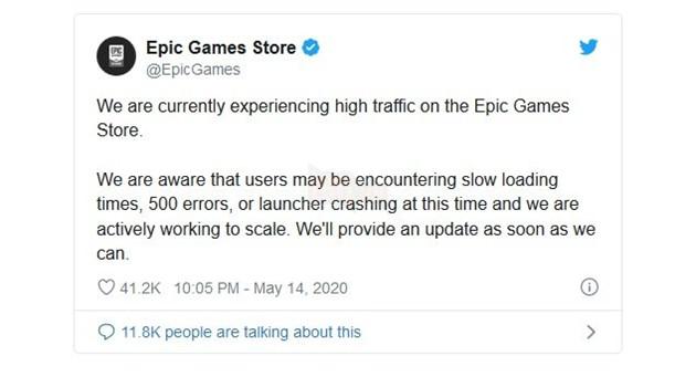 Các game thủ đã nhanh tay tải GTA V miễn phí, khiến Epic Game Store bị ngưng hoạt động trong nhiều giờ 2