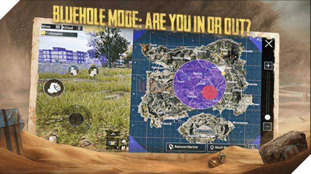 PUBG Mobile: Lối chơi và mẹo để giành chiến thắng trong Blue Hole Mode 2