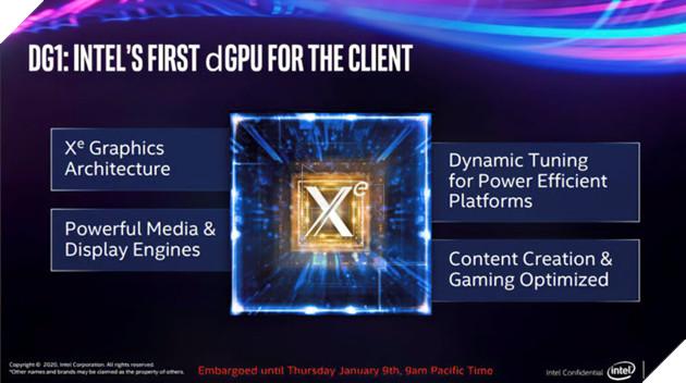 Card đồ hoạ rời của Intel, GPU Xe DG1 nhanh hơn các GPU được tích hợp sẵn  3