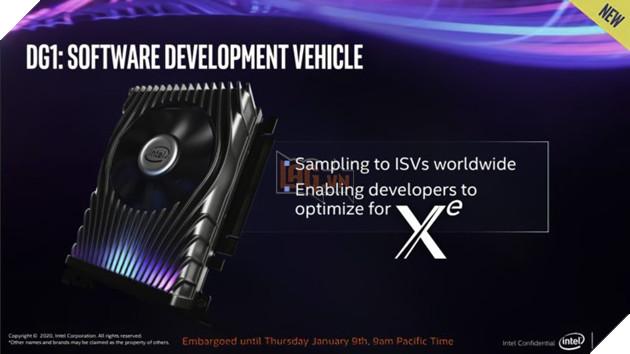Card đồ hoạ rời của Intel, GPU Xe DG1 nhanh hơn các GPU được tích hợp sẵn  4