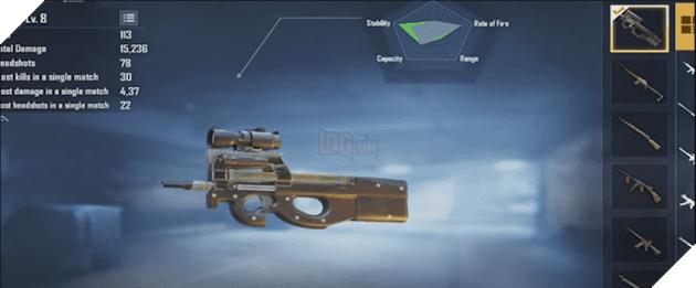 PUBG Mobile: Mọi thứ bạn cần biết về khẩu SMG P90 mới nhất  4