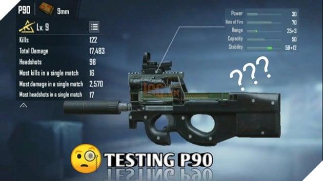 PUBG Mobile: Mọi thứ bạn cần biết về khẩu SMG P90 mới nhất  5