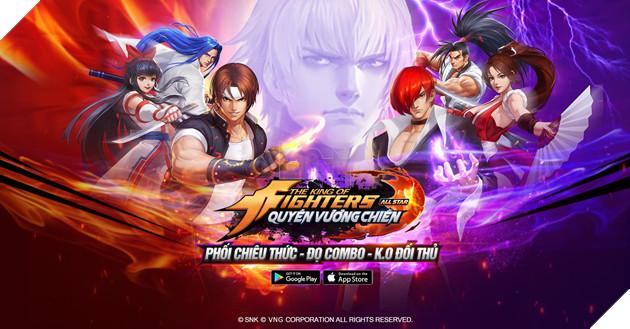 KOF AllStar VNG Quyền Vương Chiến: Chơi arcade theo phong cách thế kỷ 21 3